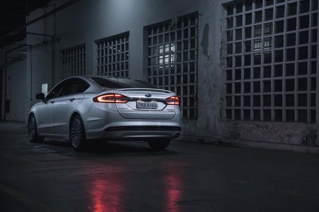 Ford Fusion Híbrido (Foto: Fabio Aro)