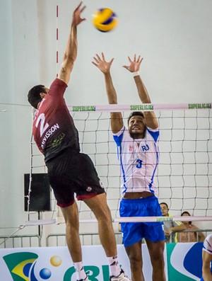 vôlei Juiz de Fora x Rio de Janeiro Superliga (Foto: Stefânia Sangi/Divulgação UFJF)