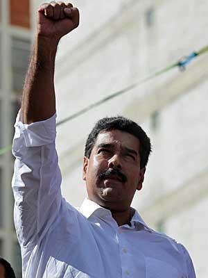 O presidente venezuelano Nicolás Maduro. (Foto: Escritório de Imprensa da Presidência / AP Photo)