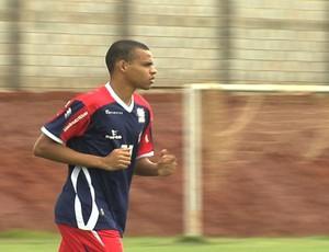 Luis Marques, nova contratação do Vila Nova (Foto: Reprodução/TV Anhanguera)