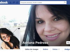 Adriana Pedroso morreu em acidente de moto na manhã desta quarta-feira (16) (Foto: Reprodução/Facebook)