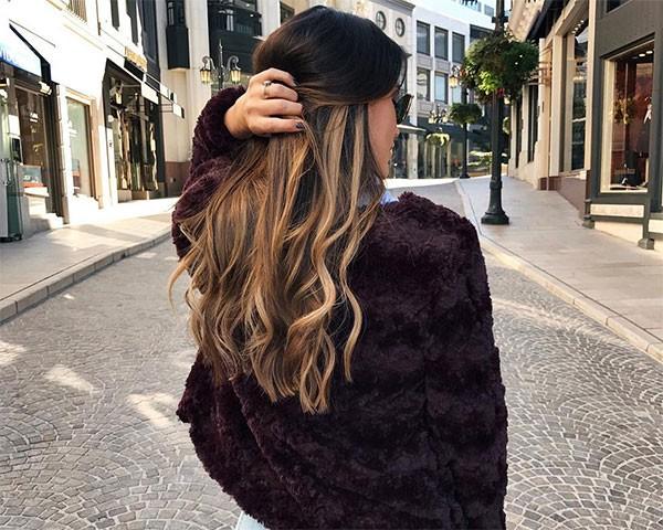 O cabelo tiger eye é a sensação do Instagram (Foto: Reprodução/Instagram)