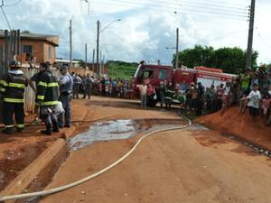 Acidente ocorreu na Vila Santa Maria (Foto: Divulgação / Jornal Ita News)