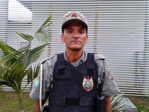 Policial diz que foi chamado de bandido por jurista  (Foto: Vanísia Nery/ G1)