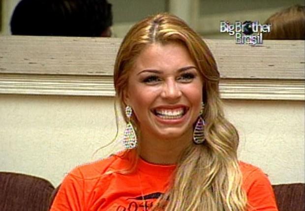 Grazi Massafera, no BBB 5 (Foto: Reprodução/Globo)