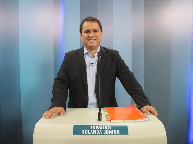 Edivaldo Holanda Júnior (PDT) também participou de debate na TV (Foto: Biaman Prado/O Estado)