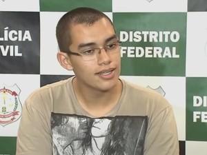 Vinícius Neres (Foto: TV Globo/Reprodução)