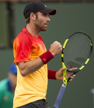 Fratanelo mostrou um ótimo tênis, mas acabou eliminado (Foto: Getty Images)