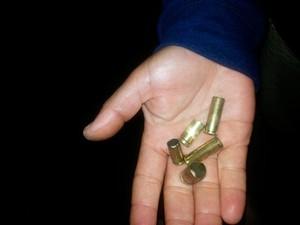 Bandidos dispararam tiros pela cidade quando iniciaram ataque (Foto: Marcos Frahm/Blog Marcos Frahm)