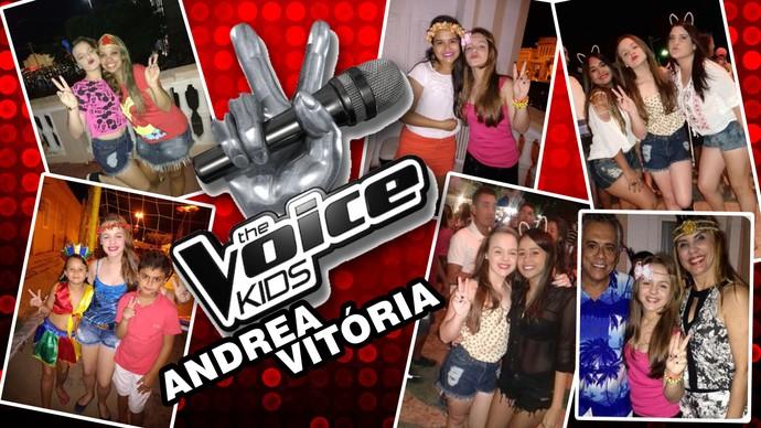 Andrea Vitória mostrou os cliques do seu carnaval para o site da TV Grande Rio (Foto: Arquivo Pessoal/ Andrea Vitória)
