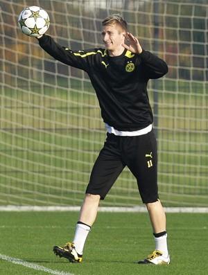 Marco Reus Borussia Dortmund treino (Foto: EFE)