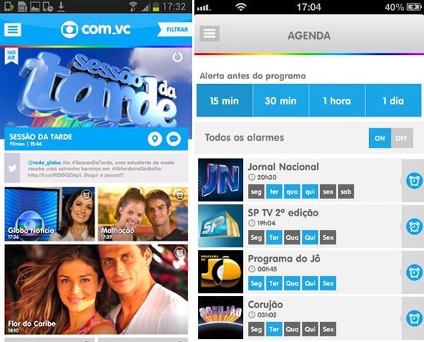 Rede Globo Diversao Com Vc App Social Da Globo Permite Conversar Sobre Nossa Programacao