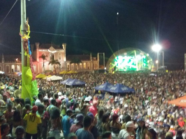 Ao todo, 65 policiais militares e 50 seguranças atuam no Carnapauxis (Foto: Divulgação/Polícia Militar de Óbidos)