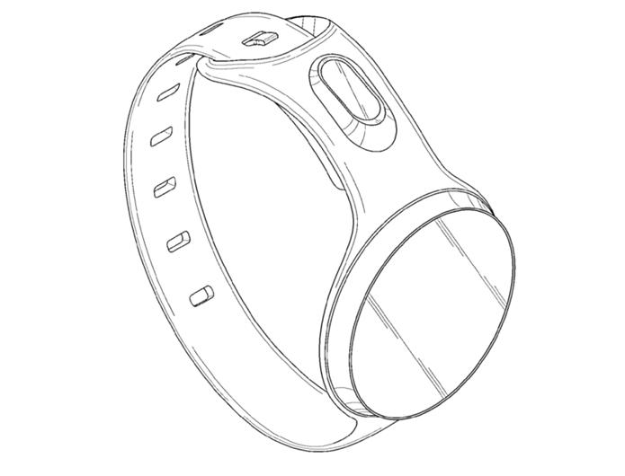Modelos de smartwatch patenteado pela Samsung (Foto: Divulgação/USPTO)