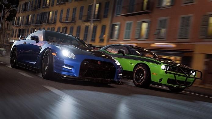 Forza Horizon 2 Presents Fast & Furious: game traz dezenas veículos dos filmes (Divulgação/Microsoft)