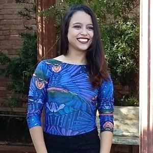 Sarah Borges Destaque Universitário Prudente (Foto: Sara Borges / Arquivo Pessoal )