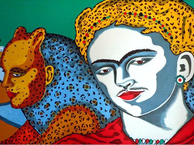 Exposição 'Percurso' está aberta neste final de semana no Museu de Arte e de Cultura Popular (MACP), em Cuiabá. (Foto: Divulgação)