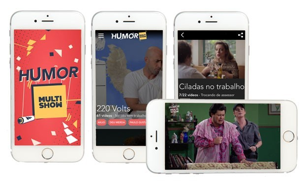 Baixe o app 'Humor Multishow' gratuitamente para iOS e Android (Foto: Divulgao)