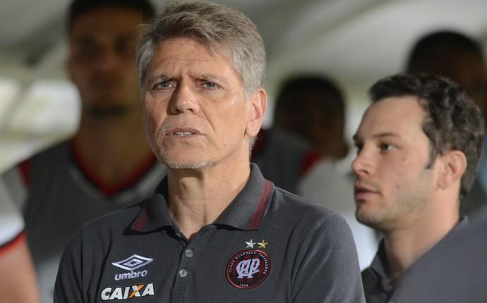 Paulo Autuori Atlético-PR (Foto: Gustavo Oliveira/ Atlético-PR)