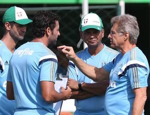 Oswaldo de Oliveira Palmeiras comissão técnica (Foto: Cesar Greco/Ag Palmeiras/Divulgação)