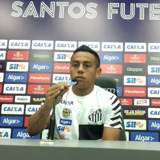 Vladimir Hernández - Santos (Foto: Lucas Musetti)