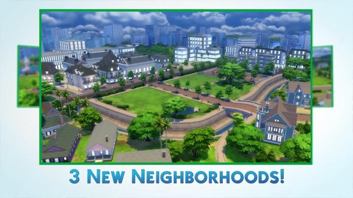 Atualização Newcrest de The Sims 4 trará novas vizinhanças para você construir (Foto: Reprodução/YouTube)