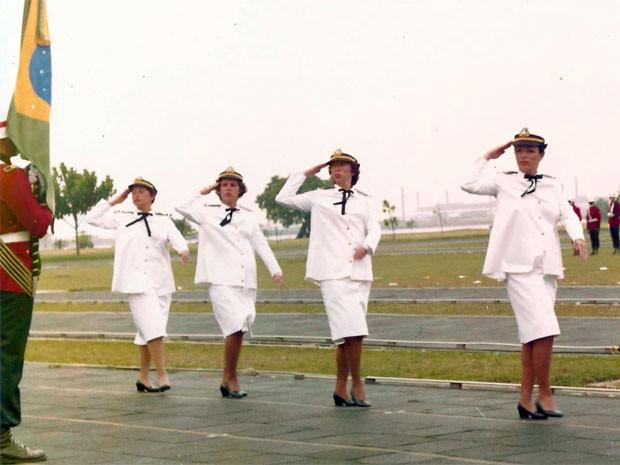 Contra-almirante Dalva (Foto: Foto: Arquivo pessoal)