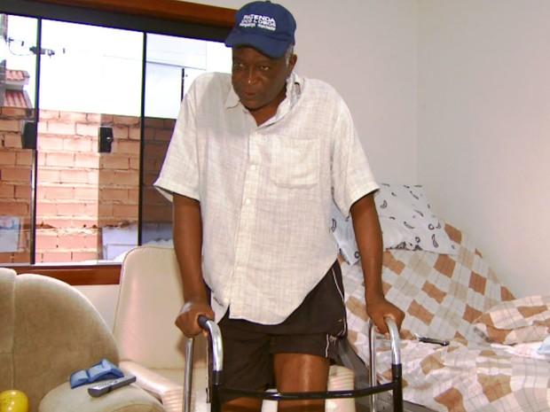 Luiz dos Reis Delfino, vítima de acidente de carro (Foto: Reprodução/EPTV)
