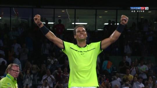 Nadal passa por Sock e pega Fognini na semifinal do Masters de Miami