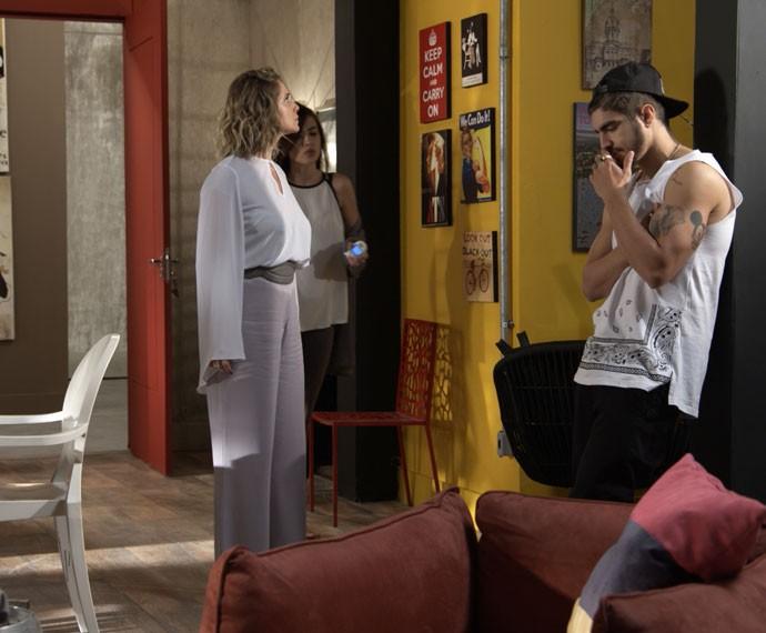 Margotr expulsa a dupla da casa (Foto: TV Globo)