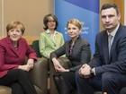 Merkel se encontra com opositora ucraniana Tymoshenko em Dublin