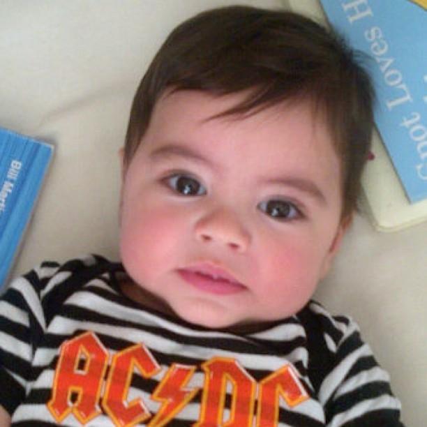 Filho da Shakira (Foto: Reprodução/Instagram)