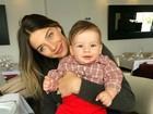 Luma Costa comemora aniversário de 2 anos do filho Antônio