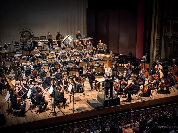 Orquestra reune 75 músicos e apresentará repertório variado em RO (Foto: Barbara Umbra/Arquivo Pessoal)