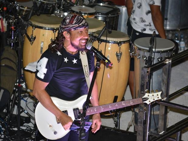 Bell Marques canta em micareta em Natal (Foto: Felipe Souto Maior/ Ag. News)
