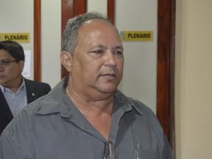 Representante do MDA Luiz de Melo afirmou que licitação para demarcar áreas dentro da glebas já aconteceu (Foto: Abinoan Santiago/G1)