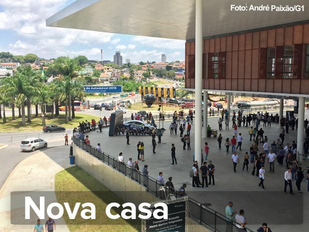 São Paulo Expo é a nova casa do Salão do Automóvel (Foto: André Paixão/G1)