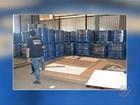 300 tonéis com cocaína diluídos em piche são apreendidos em Belém