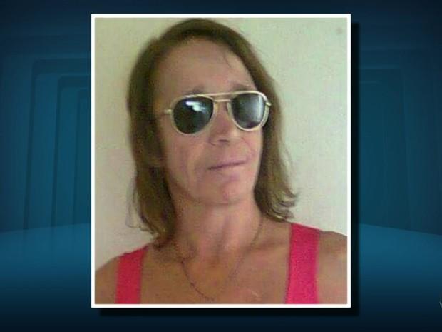 Rosa Francisca Lino Sales, de 51 anos, foi encontrada morta em Três Corações (MG) (Foto: Reprodução EPTV/Erlei Peixoto)