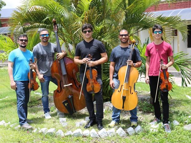 Quinteto da Paraíba (Foto: Helinho Medeiros/Divulgação)