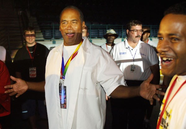 O ex-jogador de futebol americano O.J. Simpson (Foto: Getty Images)