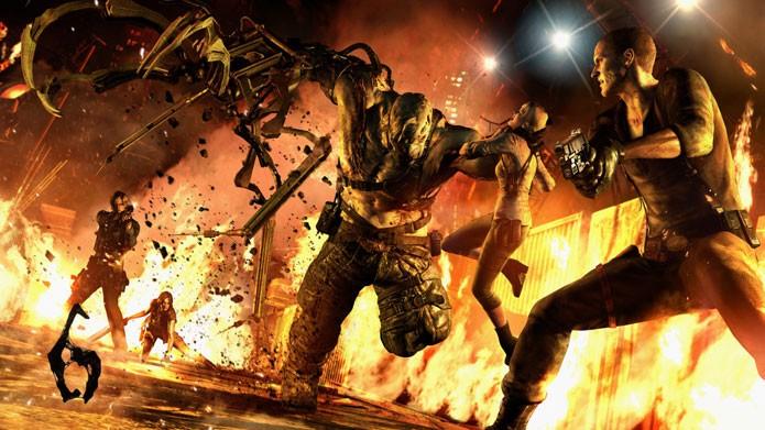 Resident Evil 6 sai mais em conta no PS3 (Foto: Divulgação)