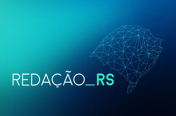 Nova identidade visual do Redação RS (Foto: Reprodução/RBS TV)