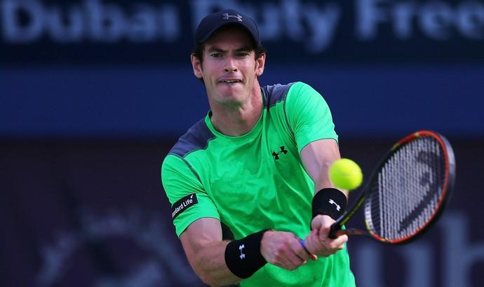 Borna Coric x Andy Murray - ATP de Dubai Tênis (Foto: Getty Images)