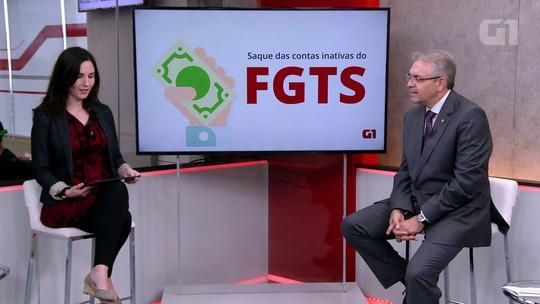 8 milhões de pessoas já sacaram R$ 12,3 bilhões do FGTS inativo, diz Caixa