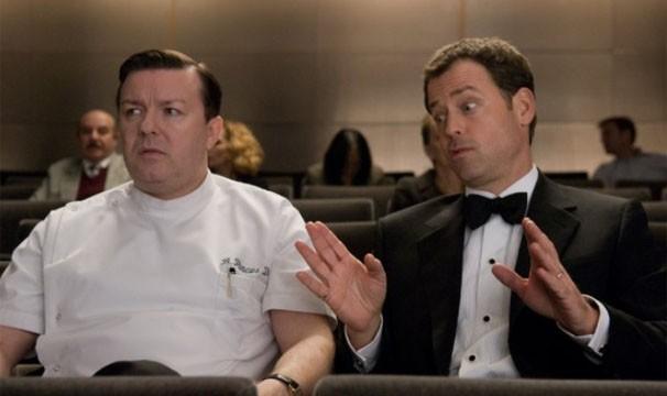 """Em """"Ghost Town"""", Bertram Pincus (Ricky Gervais) é atormentado pelo espírito de Frank Herlihy (Greg Kinnear) (Foto: Divulgação/Reprodução)"""