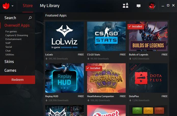 Overwolf é um programa que adiciona informações valiosas à sua jogatina online (Foto: Reprodução / Dario Coutinho)