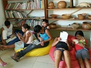 Jovens recebem capacitação no projeto Mão Jovem, em Feijó (Foto: Divulgação/ Ifa)