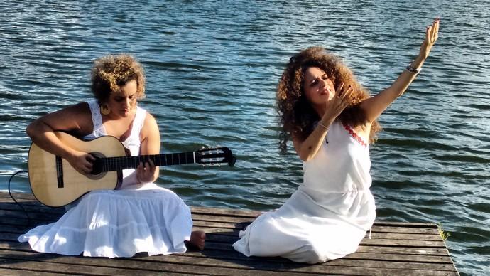Cláudia Cunha e Jana Vasconcelos (Foto: TV Bahia)