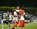 Falcao encerra jejum de dez meses e faz dois na goleada sobre o Sporting